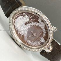 Breguet - Reine De Naples 8958 Diamond Bezel Brown Dial WG