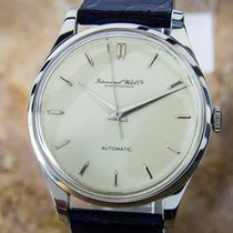 IWC Cal 853 Stainless St Automatic 1960 Men's Dress Watch D76
