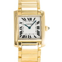 Cartier Tank Française 18K Solid Yellow Gold