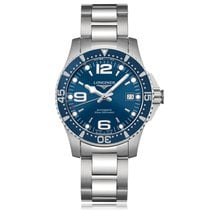 Longines HydroConquest Automatic Stainless Steel Blue Dial...