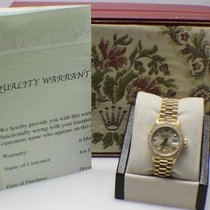 Rolex Ladies President 69138 Crown Collection 18k Yellow Gold...