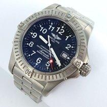 Breitling Avenger Seawolf Automatik Herrenuhr Ref.e17370 Titan...