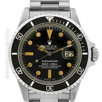 Rolex vintage 1977 stainless steel Submariner