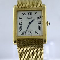 Piaget Mechanical Wind Up Solid Yellow Gold Bracelet 27mm