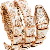 Bulgari Serpenti Jewelery Scaglie 26mm 18K Rose Gold