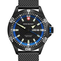 Swiss Military Cx Swiss Military Tank Nero Day/date Watch Pvd...