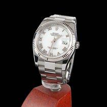 Rolex Oyster Perpetual Datejust Steel Men Size