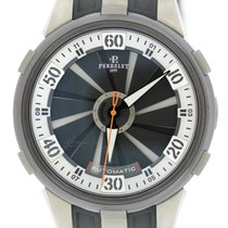 Perrelet Turbine XL Double Rotor Titanium Stainless Steel