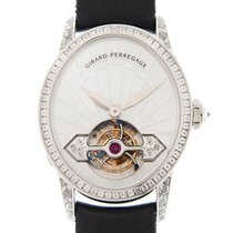 芝柏 (Girard Perregaux) Cats Eye Jewellery 18k White Gold With...