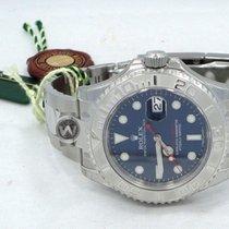 Rolex Yacht-Master Platimun Bezel Blue Dial 116622