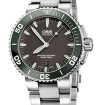 Oris Aquis Date Green/Grey