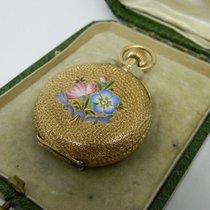 Elgin - richly decorated ladies' pocket watch - ca 1880