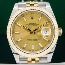 Rolex 126333 126333 Datejust II White Stick Dial 18K / SS (26418)