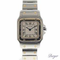 Cartier Santos Galbee PM Gold/Steel
