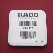 Rado Wasserdichtigkeitsset 0112 für Gehäusenummer 538.0434.3...
