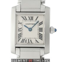 Cartier Tank Collection Tank Francaise Stainless Steel Ladies...