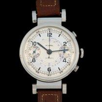 Nivrel Vintage oversize chrono two tone dial,column wheel