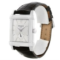 Patek Philippe Gondolo 18k White Gold Watch 5111g Box Papers