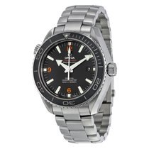 Omega Men's 23230462101003 Planet Ocean Big Size Black