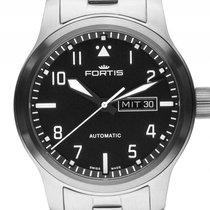 Fortis Aeromaster Stahl Automatik Armband Stahl 42mm Box&P...