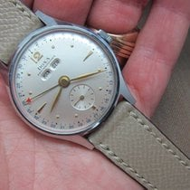 Doxa Vintage Triple Calendar 1940s Oversize | New Old Stock