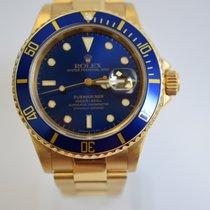 Rolex Submariner Blue Bezel and Blue Dial Vintage Classic Mint