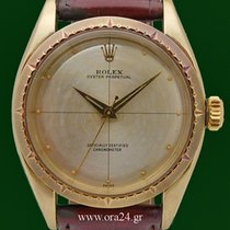 Rolex Vintage Oyster Perpetual 6582 Zephyr Yellow Gold