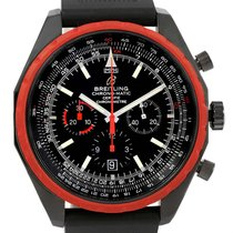 Breitling Chrono-matic Red Bezel Limited Edition Mens Watch...
