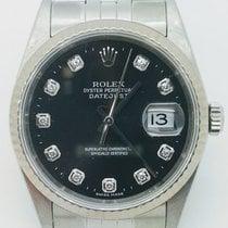 Rolex - Datejust With Diamonds - Ref. 16234 - Unisex - 2000-2010