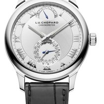 Chopard L.U.C Quattro 18K White Gold Men's Watch
