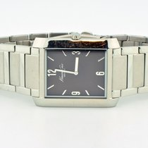 York Stainless Steel Brown Dial Watch
