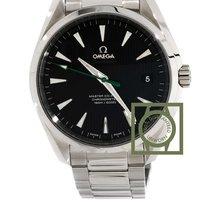 Omega Seamaster Aqua Terra Golf green seconds black dial steel