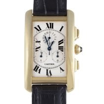 Cartier Tank Americaine Men's Quartz Chronograph Watch...