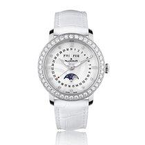 Blancpain Women Moon-Phase Diamond Ladies Watch 3663A-4654-55B