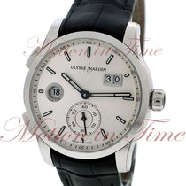 Ulysse Nardin GMT Dual Time Manufacture 42mm, Silver Dial -...