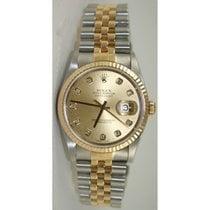 Rolex Datejust 16233 Men's Stainless Steel & 18K...