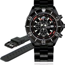Chris Benz Depthmeter Chronograph 300m CB-C300-LE Herrenchrono...