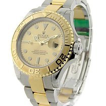 Rolex Unworn 16623ch Yacht-Master in Steel and Yellow Gold -...