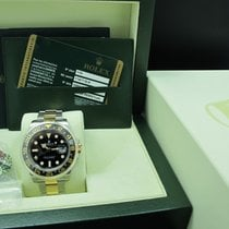 劳力士  (Rolex) Gmt-master 2 116713ln 2-tone Ceramic Bezel Full Set