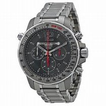Raymond Weil Nabucco Automatic Chronograph Black Dial Stainles...