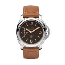 Panerai Luminor Marina  Logo Acciaio Mens Watch pam00632