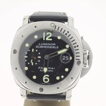 Panerai Luminor Submersible Steel 44mm (B&P2001) BlackDial