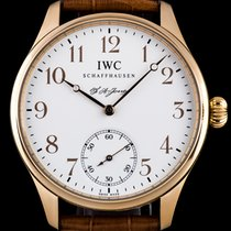 IWC 18k Rose Gold F.A. Jones Portuguese Limited Ed B&P...