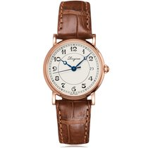 Longines Presences Heritage Rose Gold White Dial Ladies Watch...