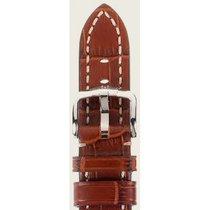 Hirsch Uhrenarmband Knight goldbraun L 10902870-2-22 22mm