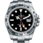 勞力士 (Rolex) [NEW] Explorer II Watch: steel 216570 Black(Retail...