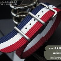 MiLTAT Thick 24mm NATO Watch Strap, French Edition, B