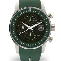Locman Island 062000GW-GRWSIG Chronograph Quartz Men's Watch