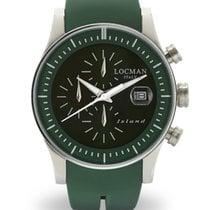 Locman Island 062000GW-GRWSIG Chronograph Quartz Men's Watch