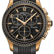 Certina DS First Lady Keramik Chrono Damenuhr C030.217.37.057.00